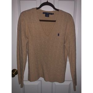 Women's Ralph Lauren Cable Knit Sweater